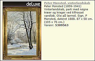 f6141b0e675 Det er da morsomt. Billedet kommer fra Malernes Udstilling i Vester  Voldgade, som palletten bagpå markerer.